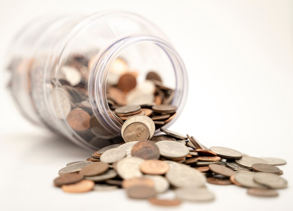 Coins in a Jar - How much will your website cost